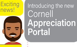 cartoon man - exciting news! introducing the new cornell appreciation portal