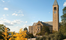 view of Cornell campus