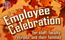 Fall Employee Celebration for staff, faculty, retirees, and their families
