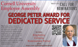 george page award poster; content on weblink