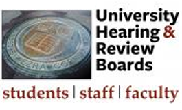 university hearing & review boards