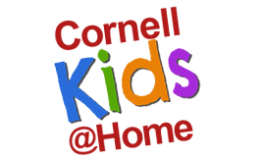 Cornell kids @home colorful logo
