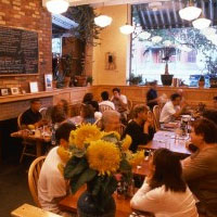 Moosewood interior on a busy night
