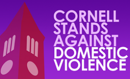 Cornell stands against domestic violence