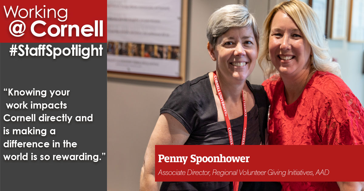 Staff spotlight: penny spoonhower