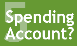 Graphic: #5 - Spending Account?