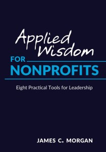 cover of applied wisdom for nonprofits booklet