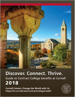 Cover of Benefits Overview Booklet - Contract College 2017
