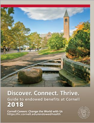 Cover of Endowed Benefits Overview Booklet