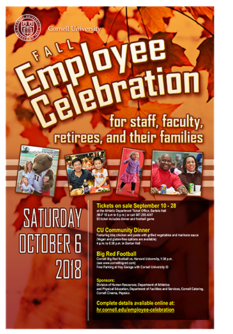 Fall Employee Celebration Poster