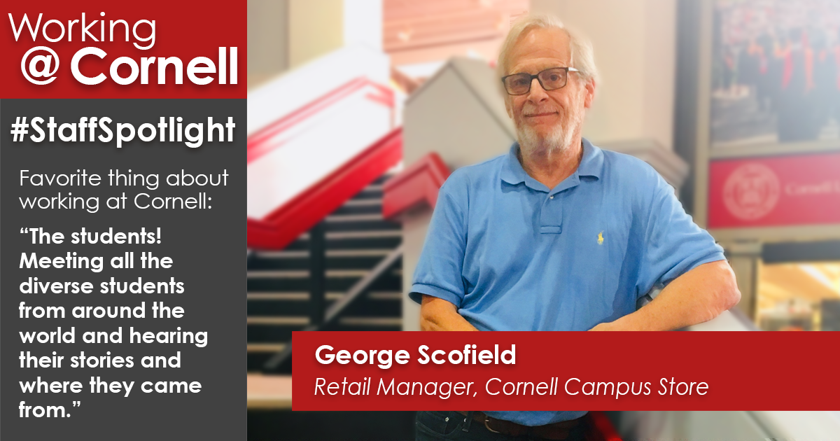 Staff spotlight: George Scofield