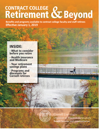 Pre-Retirement Planning - Cornell University Division of Human Resources