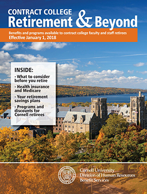 Cover Art: Retirement & Beyond booklet Contract College