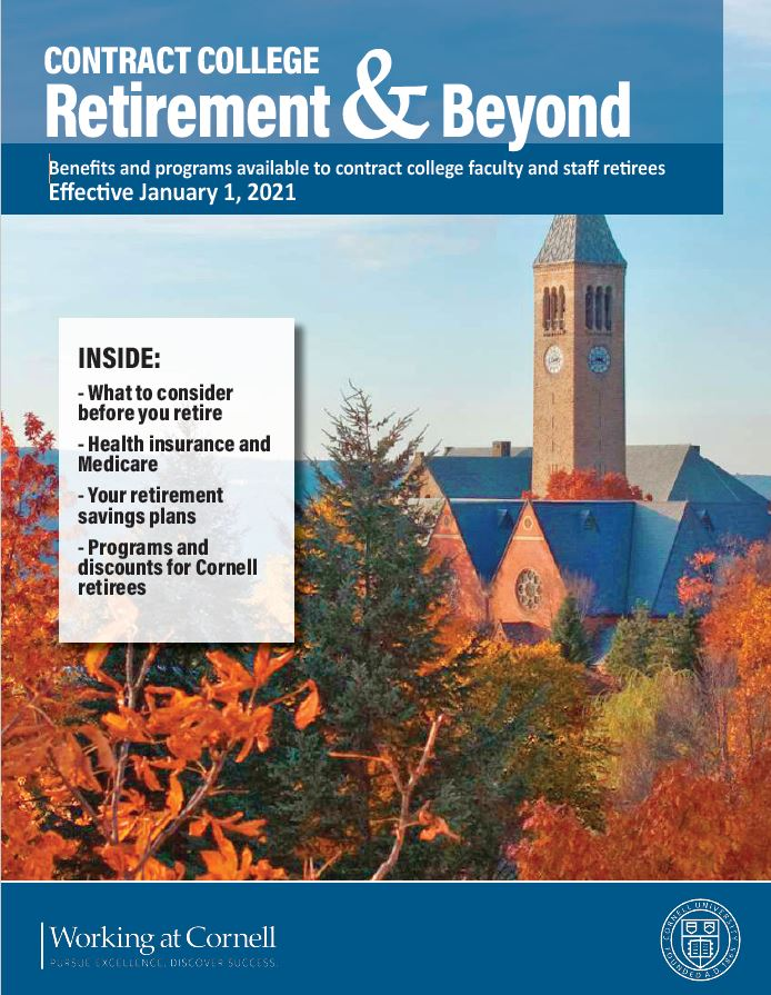 cover retirement & beyond booklet endowed