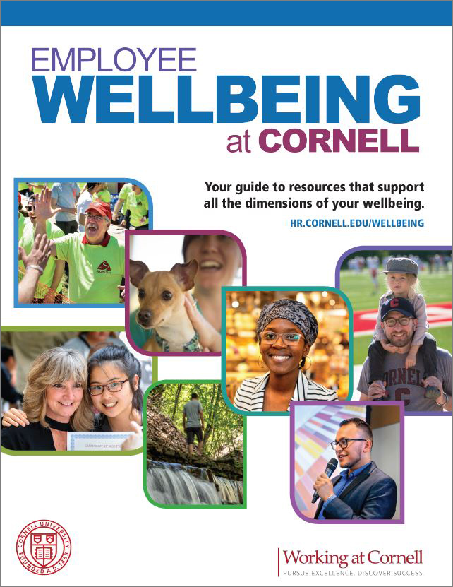 cover of Employee Wellbing at Cornell guide