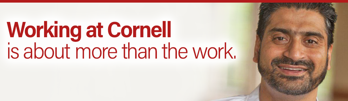 Working at Cornell is about more than the work