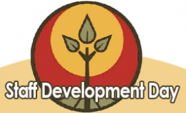 Staff development day logo